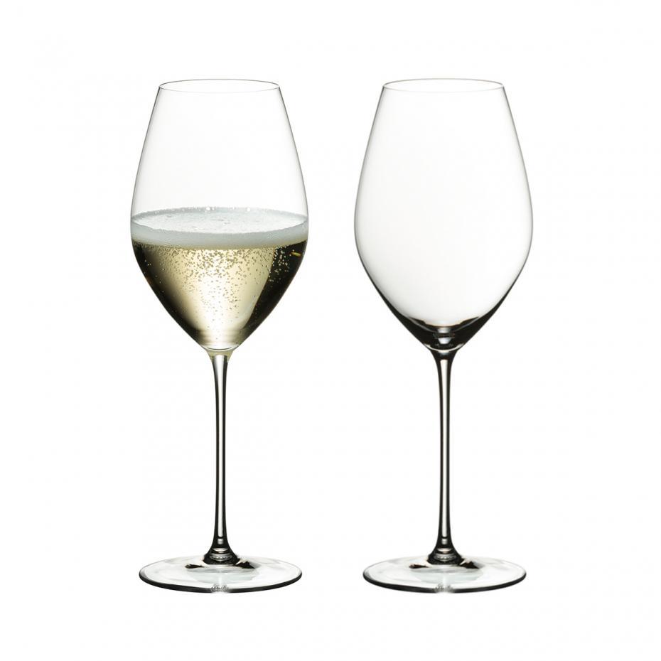 リーデル・ヴェリタス> シャンパーニュ・ワイン・グラス(2個入)